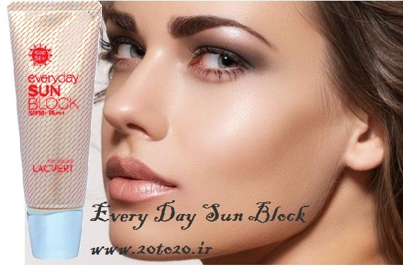 kharid-kerem-zed-aftab-zed-lac-lacvert2-www.20to20.ir_ خرید ضد آفتاب ضد لک و ضد چروک لاکورت Every Day Sun Block