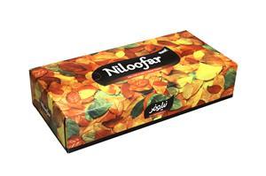 nilofar2 خرید دستمال کاغذی ۲۰۰برگ نیلوفر