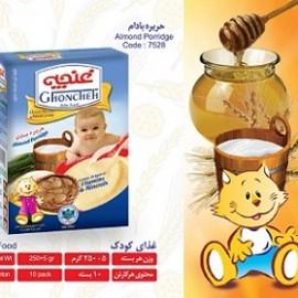 غذای کودک حریره بادام 250 گرم آی سودا