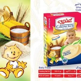 غذای کودک گندمین حاوی شیر 300 گرم آی سودا