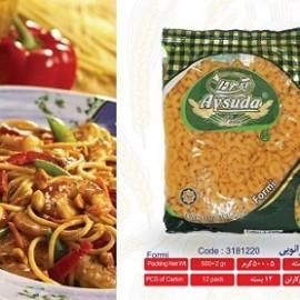اسپاگتی فرمی زانویی 500گرمی آی سودا