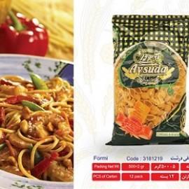 خرید اسپاگتی فرمی صدفی درشت 500گرمی آی سودا