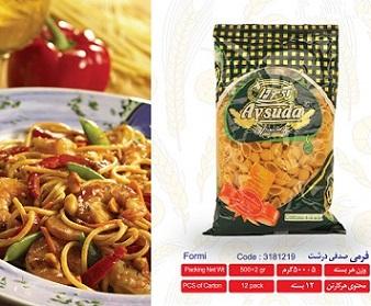 aysuda7 خرید اسپاگتی فرمی صدفی درشت ۵۰۰گرمی آی سودا