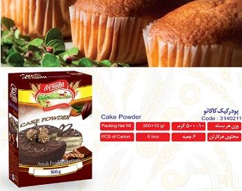 پودر کیک کاکائویی آی سودا