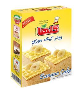خرید پودر کیک موزی 500 گرمی گلها