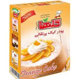 خرید پودر کیک پرتقالی گلها 500گرمی گلها