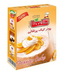 porteghali خرید پودر کیک پرتقالی ۵۰۰گرمی گلها