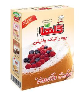 vanil خرید پودر کیک وانیلی ۵۰۰ گرمی گلها