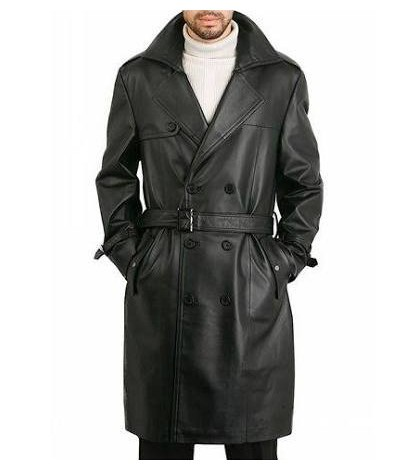 کت بلند چرم طبیعی