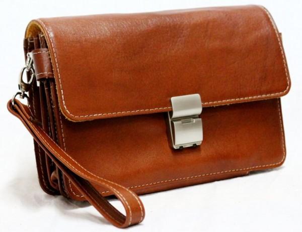 خرید کیف پاسپورتی و مدارک دستی مردانه چرم