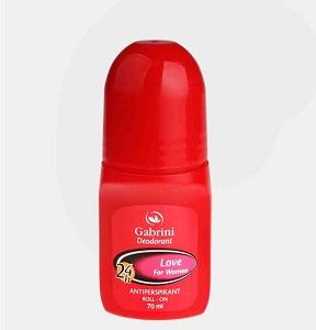 mame-zanane-gabrini-ghermez خرید دئودورانت رول آن زنانه قرمز گابرینی