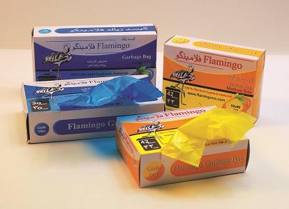 خرید زباله لندنی 14 عددی فلامینگو