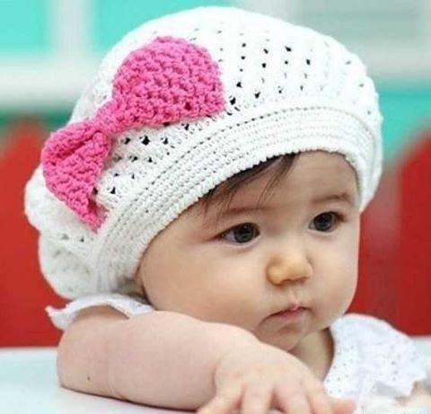 خرید کلاه بافت نوزادی 2