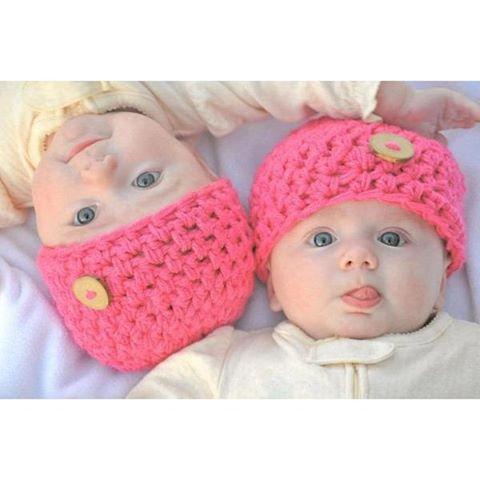 خرید کلاه بافت نوزادی 1