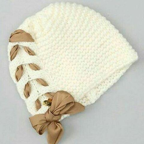خرید کلاه بافت دخترانه 4