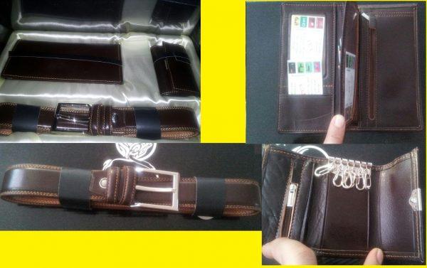 -چرم-قهوه-ای-درجه-یک-600x377 خرید ویژه ست چرم قهوه ای مد سال