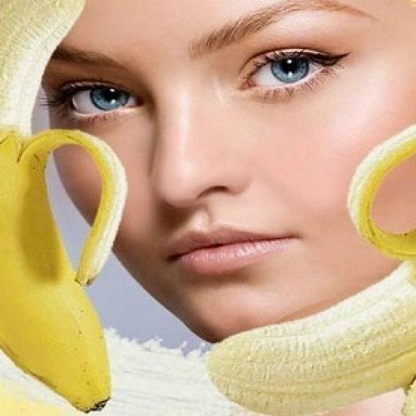 خواص معجزه آسای پوست موز برای زیبایی پوست