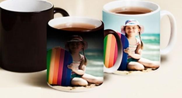 خرید لیوان جادویی با چاپ عکس دلخواه یک رو