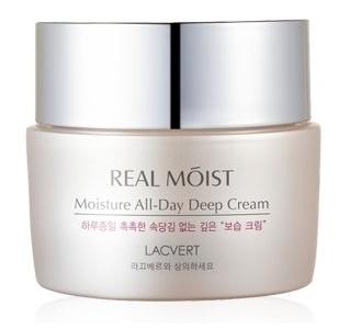 کرم مرطوب کننده عمیق روزانه LACVERT Real Moisture All-Day Deep Cream